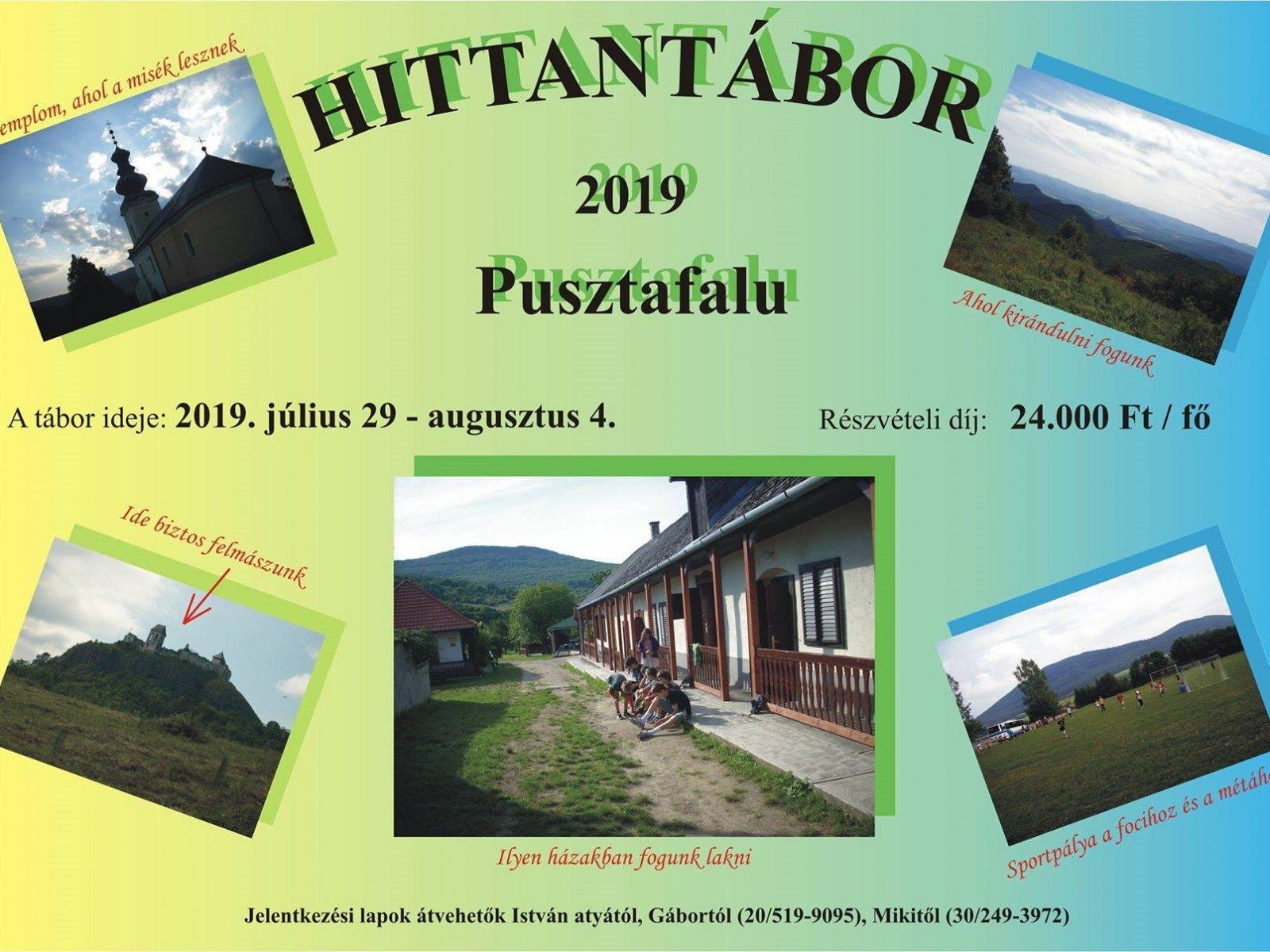 Hittantábor - 2019