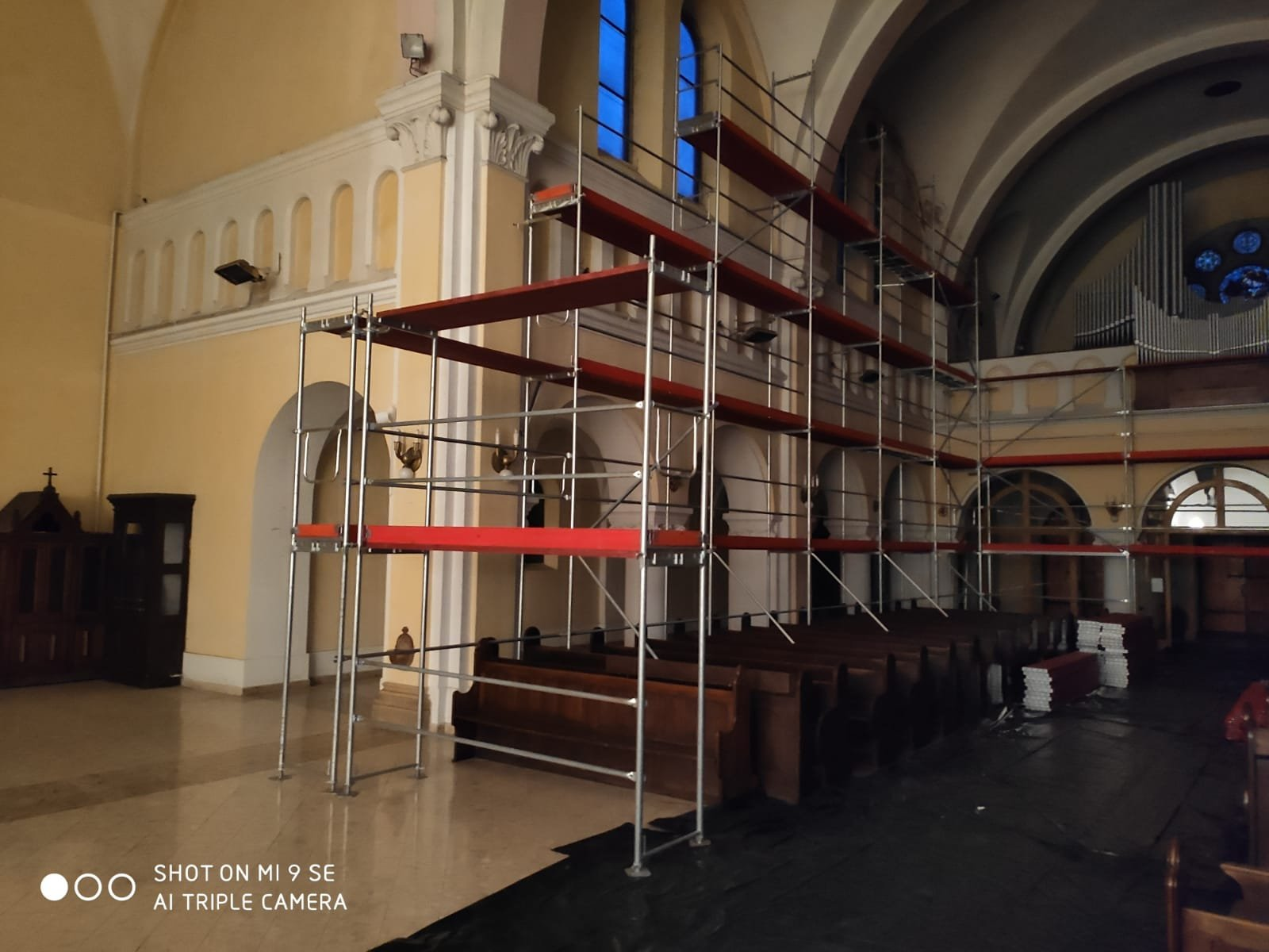 Templom zárva